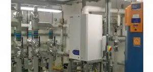 Hamworthy boiler after flushing