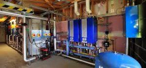 hamworthy set-up prior to dynamic flushing