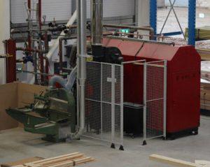 power flushing of a wood burning biomass boiler