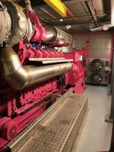Biomass Boiler, Kings Cross