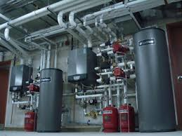 lochinvar commercial direct-fire water heater installation